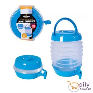 3.5 Litres Collapsible Beverage Dispenser Best for Camping Light Weight Fold abl
