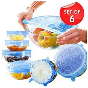 Silicon Lid Cover 6 Pcs